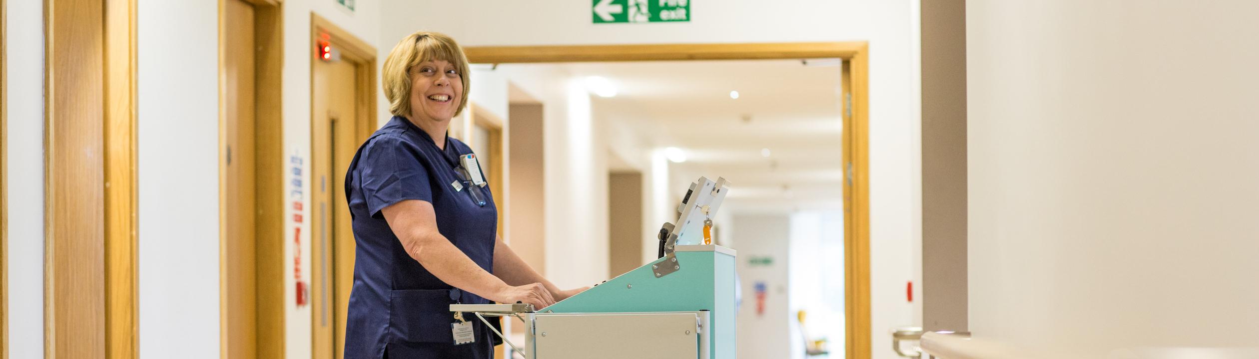 sister on kims hospital nickleby ward